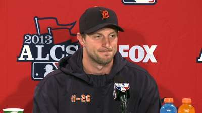 Confident Scherzer rested and ready for Red Sox