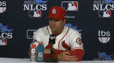 Oct. 12 Mike Matheny postgame interview
