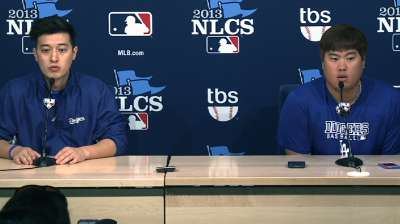 Ryu ready to rise to occasion against Cardinals