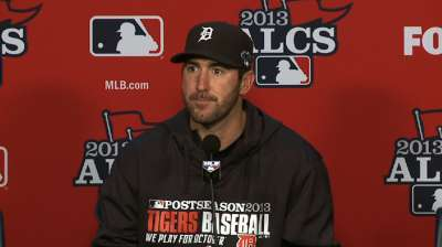 Verlander's playoff run fuels confidence for Game 3