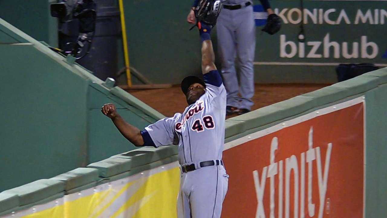 Hunter on falling into Sox 'pen