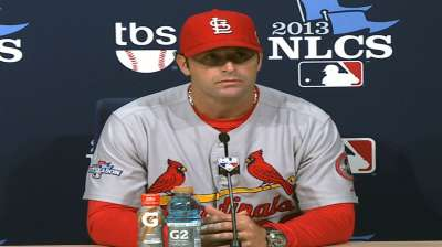 Cardinals' reputable offense missing from NLCS