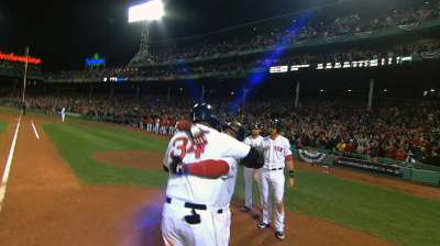 Big Papi walking tall among October legends