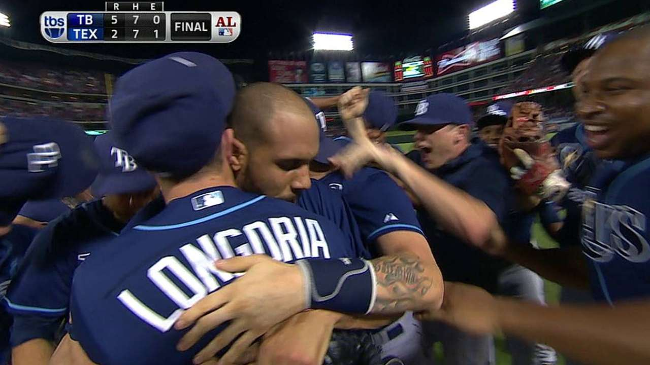 Rays advance to Wild Card Game