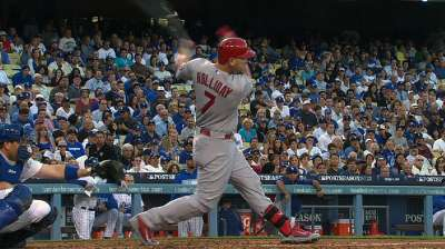 With one swing, Holliday brings end to slump
