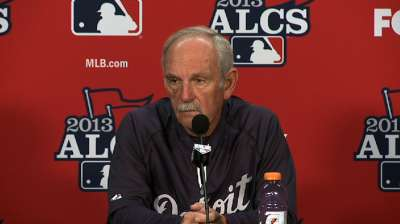 Leyland's Game 4 lineup shuffle the right move
