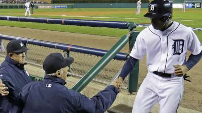 Leyland's lineup maneuvering gets offense in order