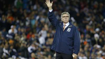 Morris continues Tigers' parade of '84 champs