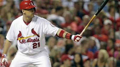 Craig excited to rejoin Cards for World Series