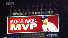 Wacha! Wacha! No joke, rookie named NLCS MVP