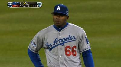 Puig ends wild rookie year with work to do