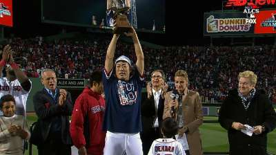 Unflappable Koji nets ALCS MVP honors