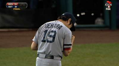 Uehara rises to occasion in unique fashion