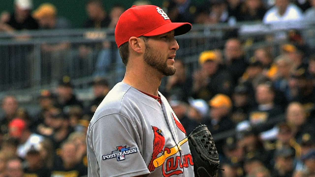 Wacha one-hits Pirates in Game 4
