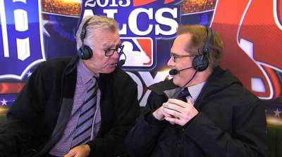 Signing off: McCarver to call his final World Series