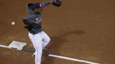 Bogaerts at third for first World Series start