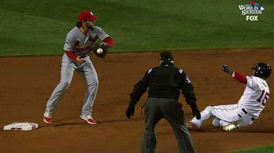 Reversed call hurts Cards, helps Red Sox's early rally