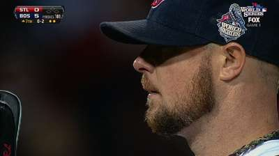 MLB Notebook: Lester, Papi a dynamic duo