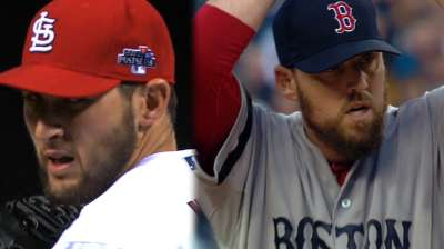 It's Red Sox duo vs. Cards sensation in Game 2