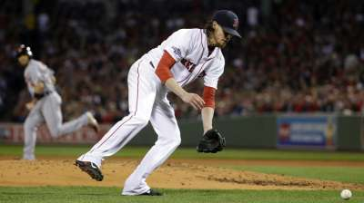 Sox tab Peavy for Game 3, Buchholz in Game 4