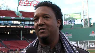 Pedro reminisces fondly about time in Boston