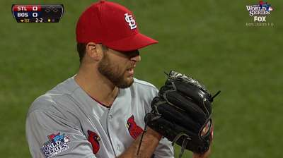 Wacha joining ranks of all-time postseason greats