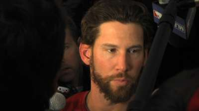 Breslow hopes to overcome World Series struggles