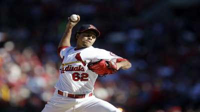 Latest crop emblematic of Cards' growing pitching tree