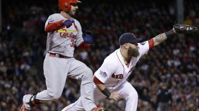 Loss of Napoli's glove also hurts Red Sox