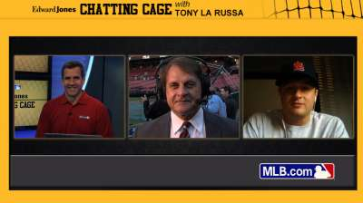 La Russa talks 'Cardinal Way' in Chatting Cage