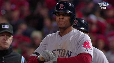 Bogaerts' postseason poise belies his young age