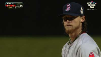 Buchholz goes four gritty innings with sore shoulder