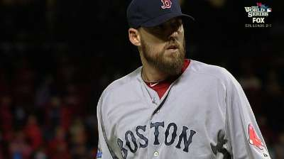 Lackey contributes big inning of relief in eighth