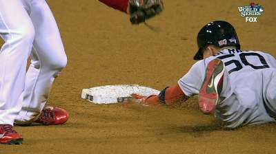 Berry's feet take on Molina's arm -- and win