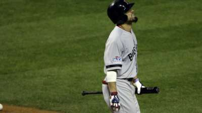 Pedroia, Ortiz move up in lineup with Victorino out