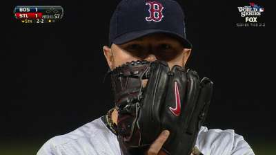 Lester again shows he's Boston's unflappable ace