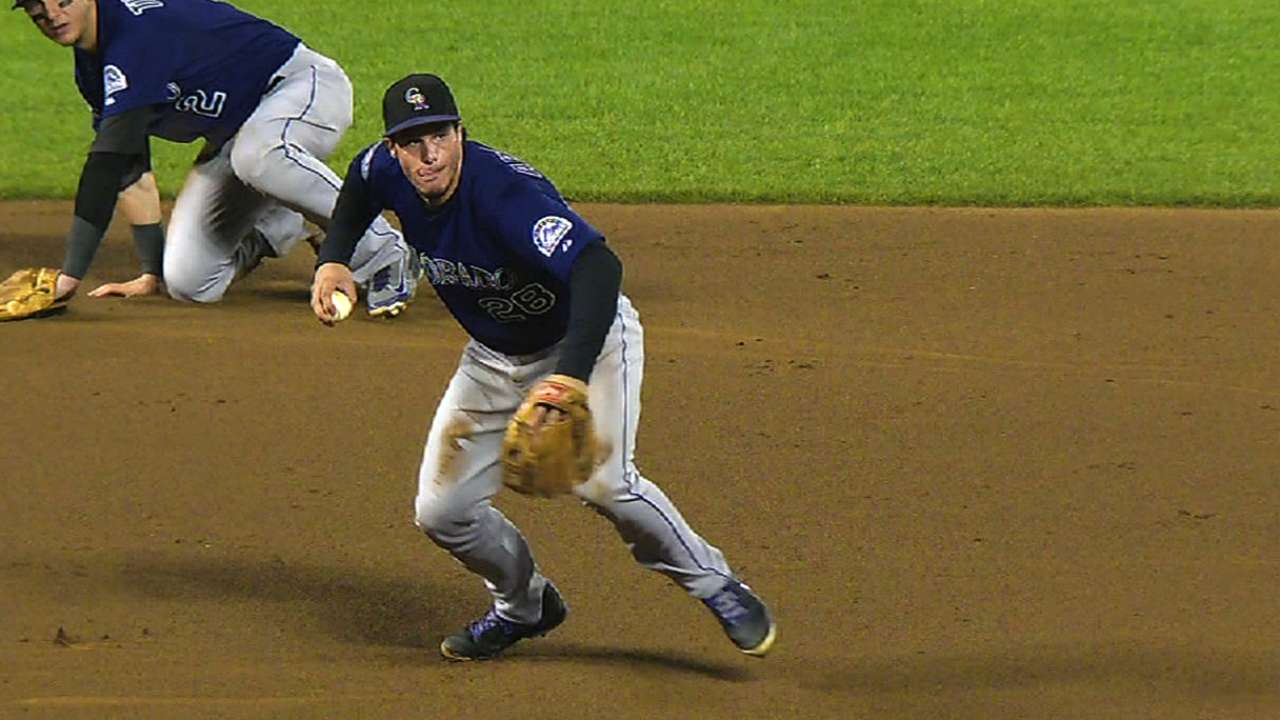 Arenado highlights talented young infielders