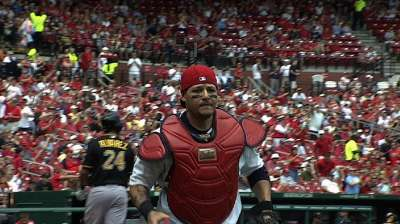 Molina, Waino team up again for Gold Glove Awards