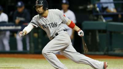 Victorino back in action for Game 6, hitting sixth