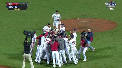 Boston common: Sox win third World Series since '04