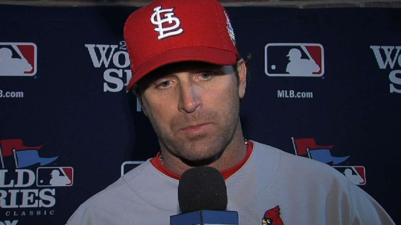 Oct. 30 Mike Matheny postgame interview