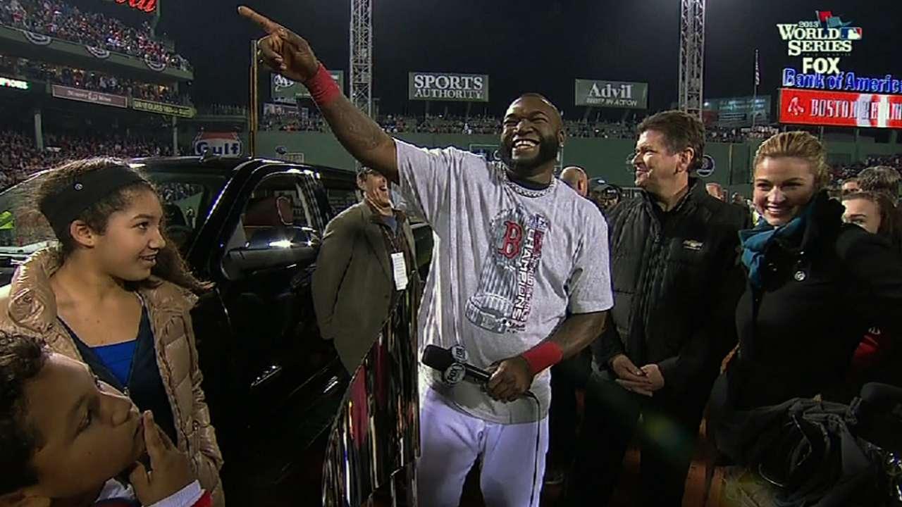 Papi named World Series MVP