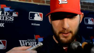 'Disappointing' end to Wacha's remarkable playoff run
