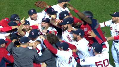 Red Sox's celebration even sweeter at Fenway Park