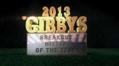 Young sluggers lead GIBBY Breakout Hitter nominees