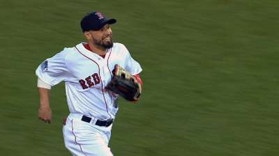 Victorino has surgery on right thumb