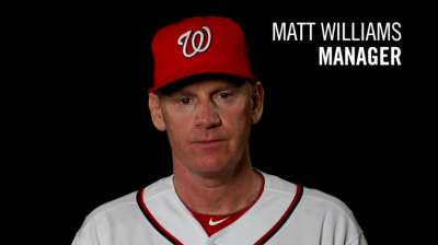 Nationals eager to get to know new manager Williams