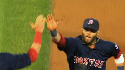 Pedroia named Heart and Hustle Award winner