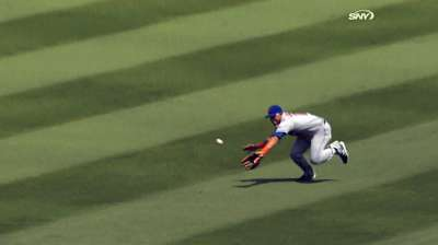 Lagares chosen as Mets' defense award winner