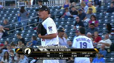Meyer, homers lead West to Fall Stars Game victory